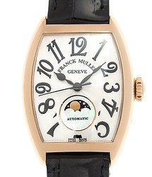 Franck Muller Ladies Collection 18kt Rose Gold White Automatic 7500 Sc At Fo L (5N)
