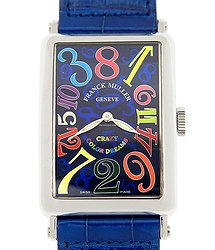 Franck Muller Ladies Collection Stainless Steel Blue Quartz 1200 Ch Col Drm (ac) - BL