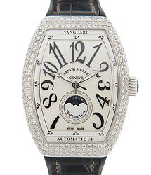 Franck Muller Ladies Collection Stainless Steel & Diamonds Silver Automatic V 32 Sc At Fo L D Cd 1r (AC.NR)