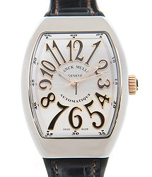 Franck Muller Ladies Collection Stainless Steel White Automatic V 32 Sc At Fo Stg (AC.NR)