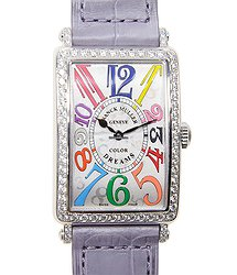 Franck Muller Long Island Stainless Steel Silver Quartz 952 Qz Col Drm D 1r (AC)