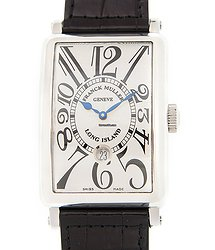 Franck Muller Long Island Stainless Steel White Automatic 1300 Sc Dt (AC)