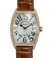 Franck Muller Master Of Complication 18kt Rose Gold & Diamonds Silver Quartz 2852 Qz D 1r (5N)