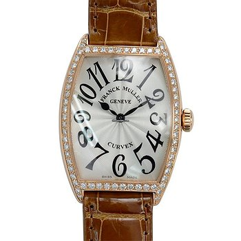 Купить часы Franck Muller Master Of Complication 18kt Rose Gold & Diamonds Silver Quartz 2852 Qz D 1r (5N)  в ломбарде швейцарских часов