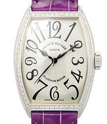 Franck Muller Master Of Complication Stainless Steel & Diamonds Silver Automatic 5850 Sc D 1r (AC)
