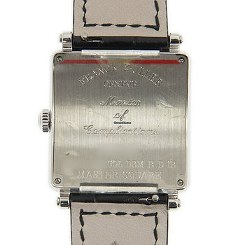 Купить часы Franck Muller Master Square Stainless Steel & Diamonds White Quartz 6002 L Qz D 1r Col Drm (AC)  в ломбарде швейцарских часов