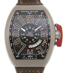 Franck Muller Vanguard Stainless Steel Black Automatic V 45 Sc Dt Lck (TT.MC.BN)