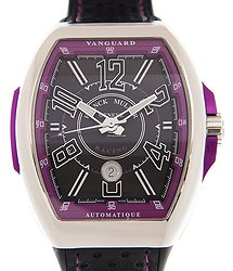 Franck Muller Vanguard Stainless Steel Black Automatic V 45 Sc Dt Racing (AC.VL)