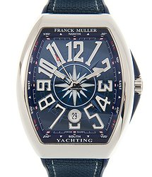 Franck Muller Vanguard Stainless Steel Blue Automatic V 41 Sc Dt Yachting (AC.BL)