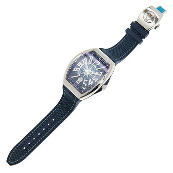 Купить часы Franck Muller Vanguard Stainless Steel Blue Automatic V 41 Sc Dt Yachting (AC.BL)  в ломбарде швейцарских часов