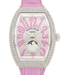 Franck Muller Vanguard Stainless Steel & Diamonds Silver Automatic V 32 Sc At Fo L D Cd (AC.RS)