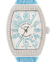 Franck Muller Vanguard Stainless Steel & Diamonds White Automatic V 29 Sc At Fo D (AC.BL)