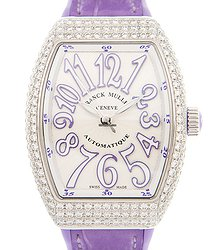 Franck Muller Vanguard Stainless Steel & Diamonds White Automatic V 32 Sc At Fo D (AC.VL)