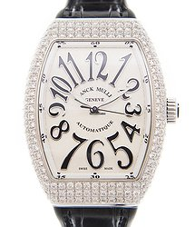 Franck Muller Vanguard Stainless Steel & Diamonds White Automatic V 35 Sc At Fo D (AC.NR)