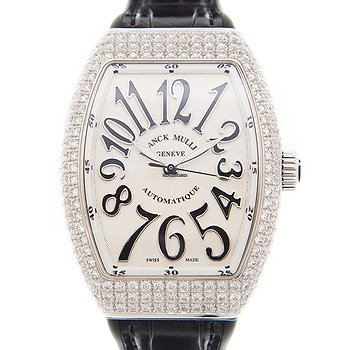 Купить часы Franck Muller Vanguard Stainless Steel & Diamonds White Automatic V 35 Sc At Fo D (AC.NR)  в ломбарде швейцарских часов