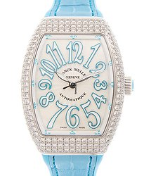 Franck Muller Vanguard Stainless Steel White Automatic V 35 Sc At Fo D (AC.BL)