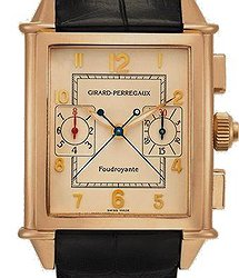 Girard Perregaux Classiс RECTANGULAR AUTOMATIC SPLIT SECONDS CHRONOGRAPH