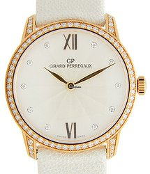 Girard Perregaux Girard-perregaux 1966 18kt Rose Gold & Diamonds White Automatic 49528D52B171-IK7A