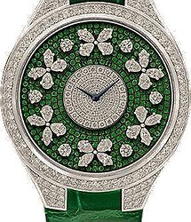 Graff Disco Butterfly  diamond on emerald