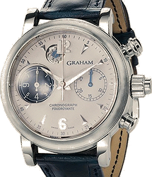 Graham Chronofighter. Oversize Foudroyante