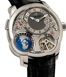 Greubel & Forsey GMT. White Gold