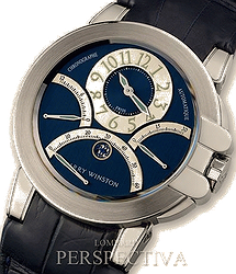 Harry Winston Premier Ocean Triple Retrograde Chronograph