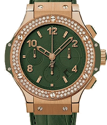 Hublot Big Bang 41 MM Dark Green Diamonds