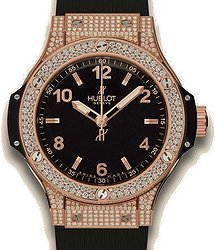 Hublot Big Bang Big Bang Gold Pave 38 mm