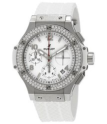 Hublot Big Bang Chronograph UWhite Dial White Rubber unisex Watch 342SE230RW114