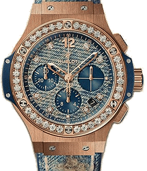 Hublot Big Bang Jeans Gold Diamonds