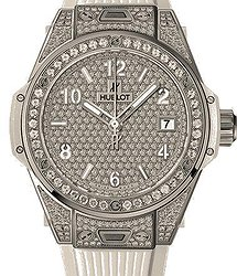 Hublot Big Bang One Click Steel Full Pave 39mm