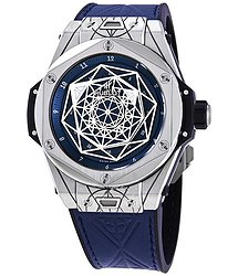 Hublot Big Bang Sang Bleu Automatic Blue Dial Men's Limited Edition Watch
