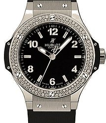 Hublot Big Bang Steel Diamonds 38 mm