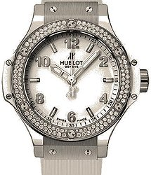 Hublot Big Bang Steel White Diamonds 38 mm