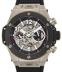 Hublot Big Bang Titanium Silver Automatic 411.NM.1170.RX