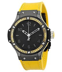 Hublot Big Bang Tutti Frutti Black Dial Ladies Watch