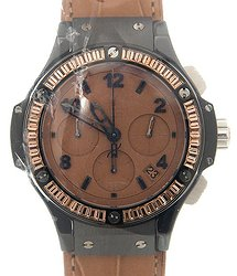Hublot Big Bang Tutti Frutti Tan Dial Chronograph Unisex Watch 341CA5390LR1918
