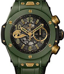Hublot Big Bang Unico Chronograph WBC Green Ceramic 45 mm