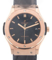 Hublot Classic Fusion 18kt Rose Gold Black Automatic 511.OX.1181.LR