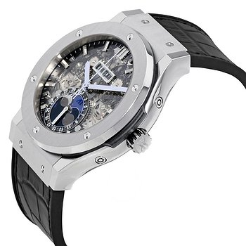 Купить часы Hublot Classic Fusion Aerofusion Moonphase Sapphire Dial Titanium Men's Watch  в ломбарде швейцарских часов