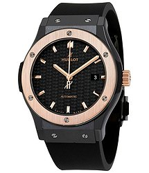 Hublot Classic Fusion Automatic Black Carbon Fiber Men's Watch
