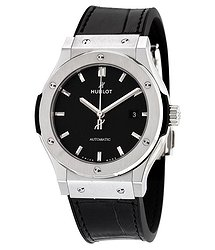 Hublot Classic Fusion Automatic Black Dial Titanium Men's Watch 542NX1171LR