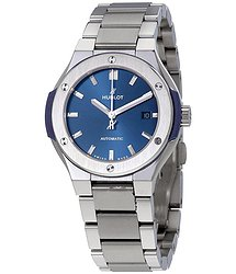 Hublot Classic Fusion Automatic Blue Dial Ladies Watch