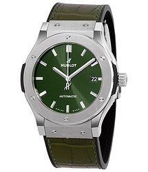 Hublot Classic Fusion Automatic Green Dial Men's Watch