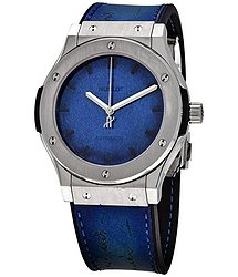 Hublot Classic Fusion Berluti Blue Men's Watch