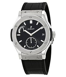 Hublot Classic Fusion Black Dial Automatic Men's Power Reserve Watch