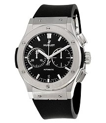 Hublot Classic Fusion Black Dial Chronograph Men's Automatic Watch