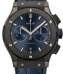 Hublot Classic Fusion Ceramic Blue Chronograph 45 mm