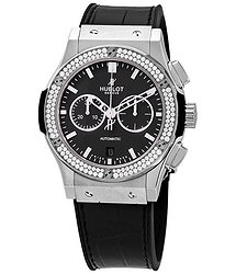 Hublot Classic Fusion Chronograph Automatic Black Dial Men's Watch