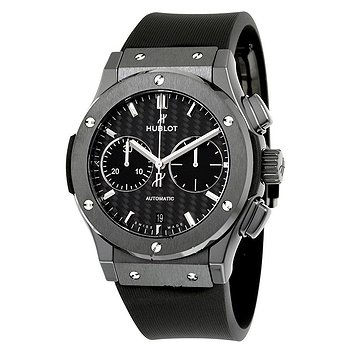 Купить часы Hublot Classic Fusion Chronograph Black Magic Mat Carbon Fiber Dial Automatic Men's Watch  в ломбарде швейцарских часов
